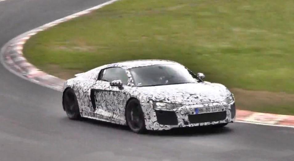 Erlkönig, spy shot, audi, Audi R8, R8, Video, Audi, Nürburgring, grüne Hölle, der neue Audi R8,  Audi R8 V10