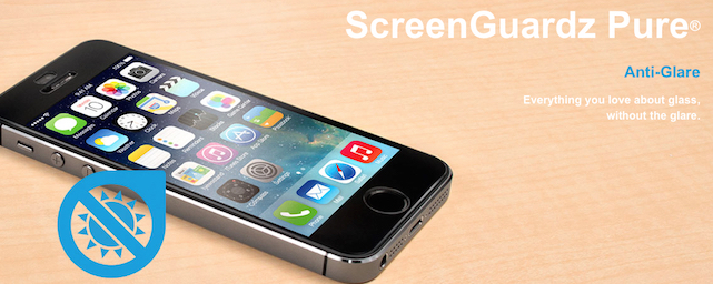 Bodyguardz ScreenGuardz Pure glass screen protector for iPhone 6