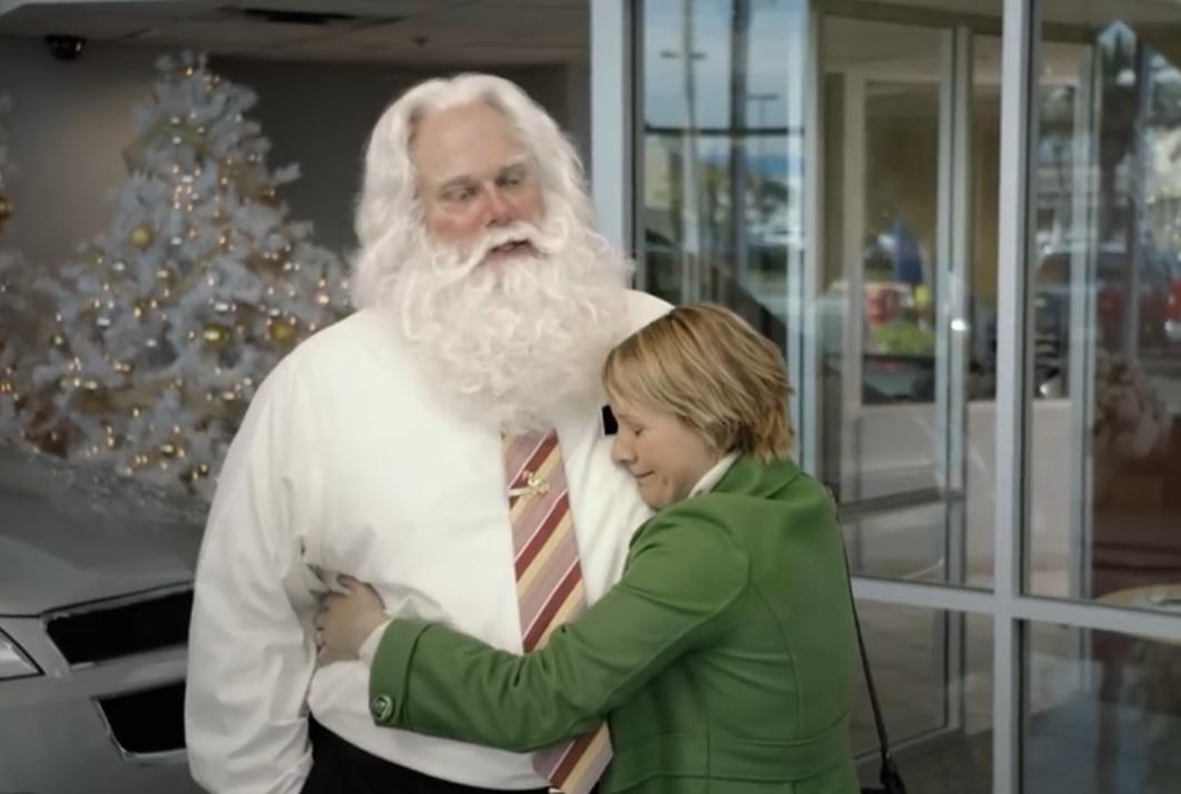 Video: Der Nikolaus als Autoverkäufer