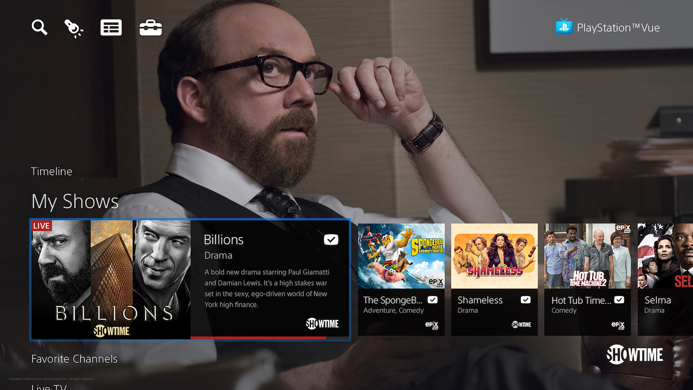 PlayStation Vue TV streaming is now available across the US