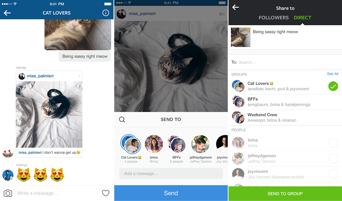 Instagram adds more Direct messaging features