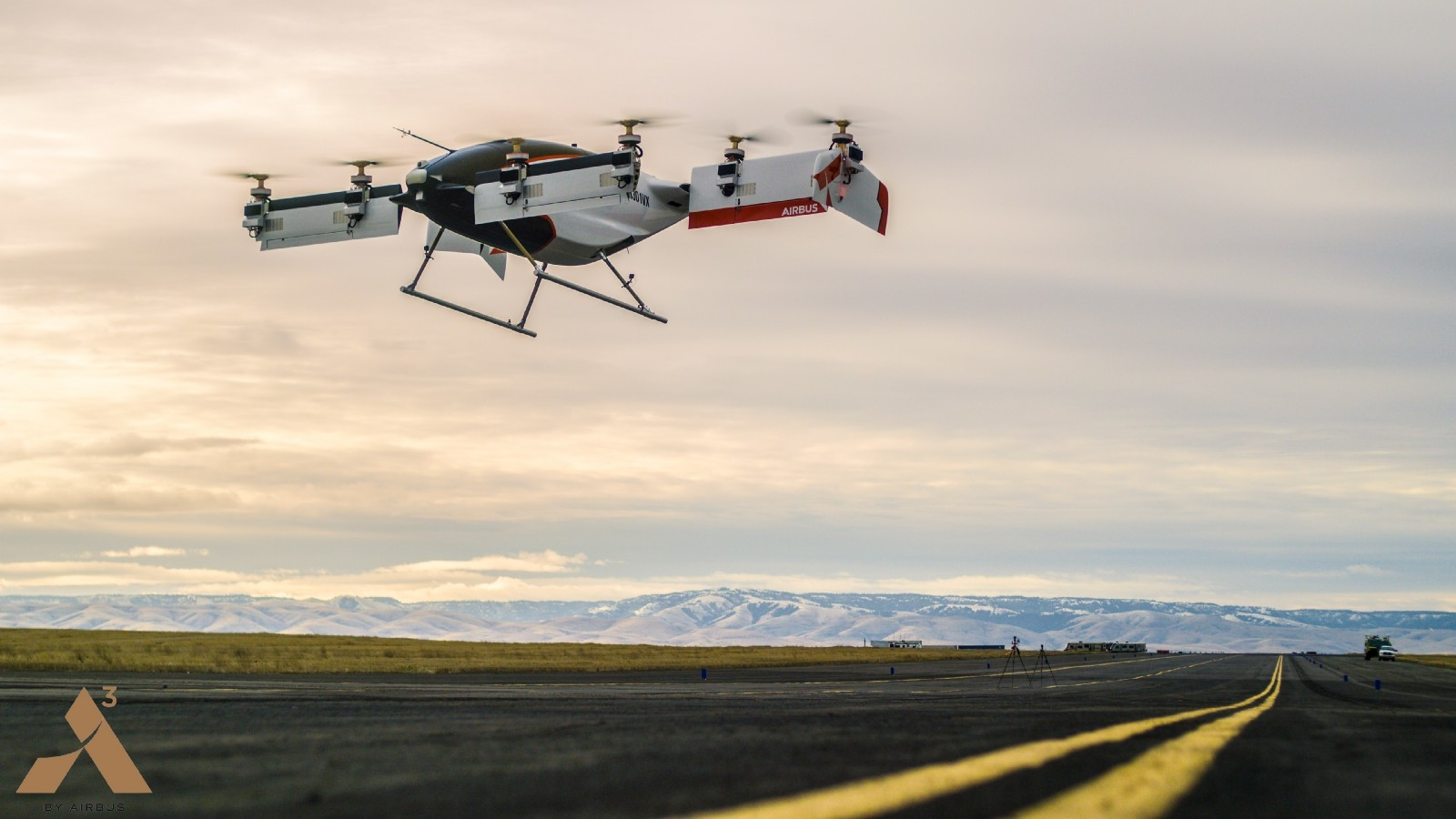 El taxi-dron autónomo de Airbus echa a volar por primera vez