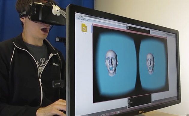 Oculus VR figures out how avatars can mimic your facial expressions
