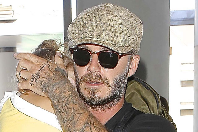 david beckham new tattoo