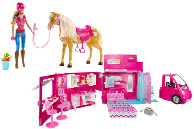 ​WIN a Barbie toy bundle!