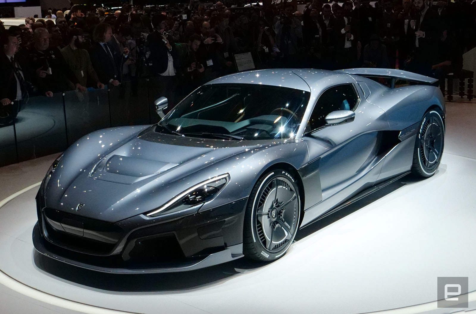 rimac unveils the 1 900 hp concept two electric hypercar 15 minut. Black Bedroom Furniture Sets. Home Design Ideas