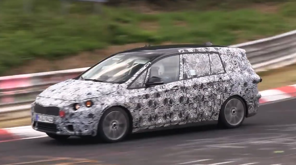 2er Active Tourer, Active Tourer, Auto salon Genf, BMW, BMW 2er Active Tourer, BMW Van, debüt, featured, fotos, Genf, Genfer Auto salon, leaked, photos, pics, premiere, revealed, Van, erlkönig, spy shot, video, siebensitzer, 7-Sitzer, seven seater, 7-Seater. Nürburgring
