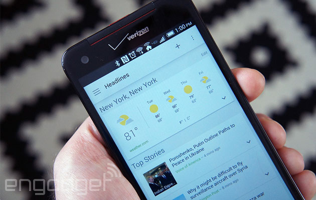 Google News and Weather joins the modern age with Now-like cards