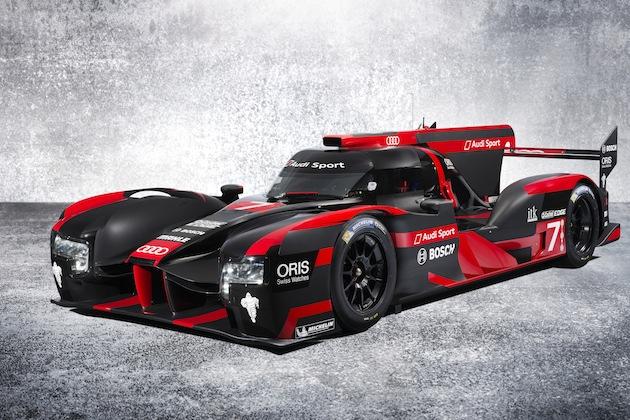 アウディ、2016年のル・マン優勝を託した新型レースカー「R18」を発表