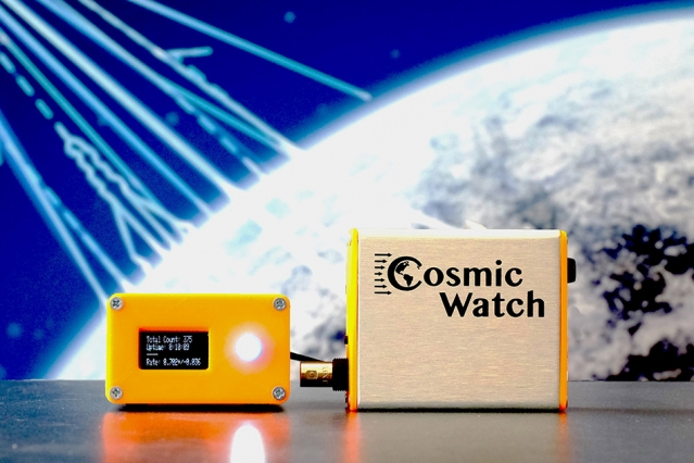 MIT's DIY muon detector sniffs out cosmic particles
