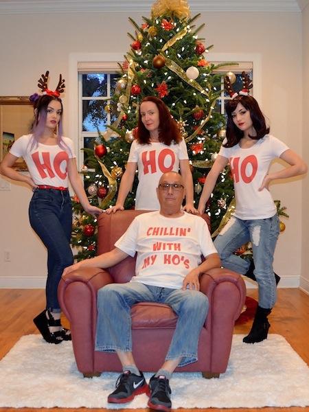 funny christmas cards, funny christmas photos, ho ho ho christmas