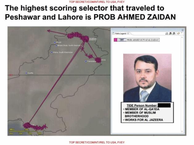US SKYNET program marks Al Jazeera journalist as Al Qaeda