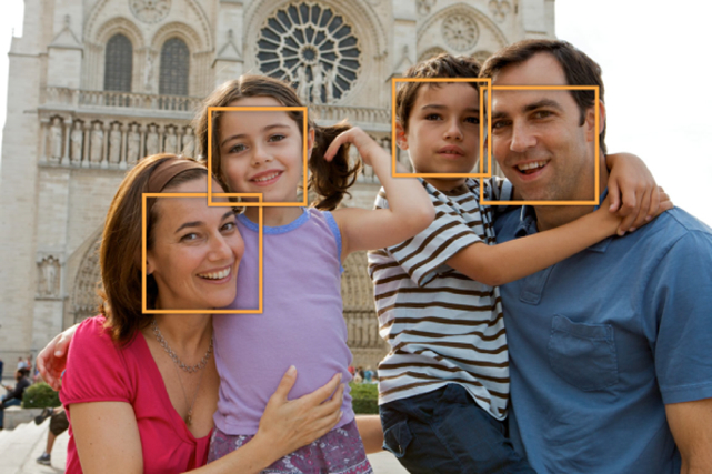 apple facial detection