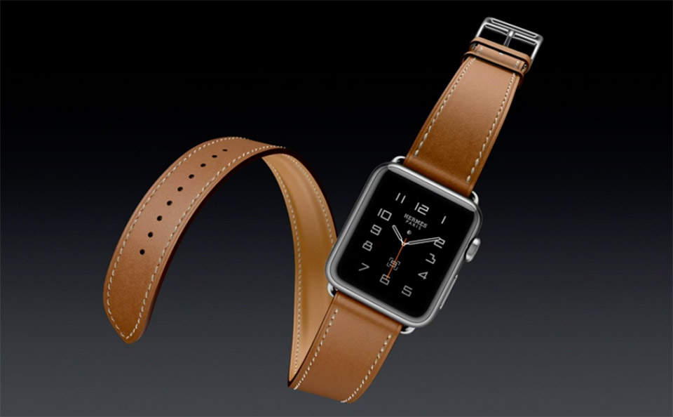 Apple reveals new Watch bands including a leather Hermes model