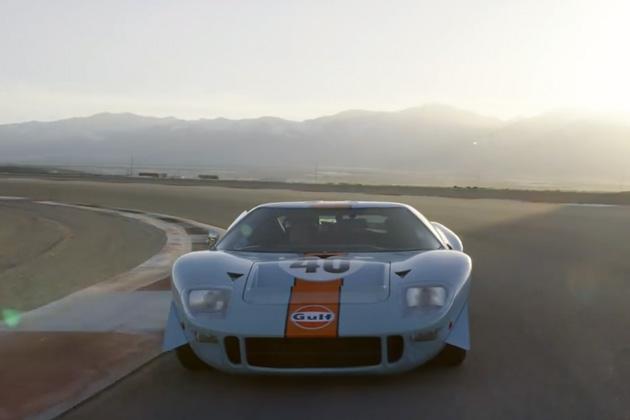 【ビデオ】ガルフ・カラーのフォード「GT40」が、王者の風格でサーキットを疾走!