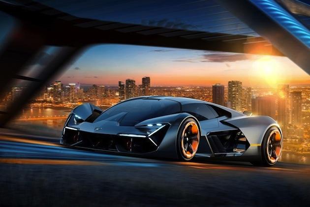 ランボルギーニ、将来の方向性を示す電動スーパーカーのコンセプト「テルツォ・ミッレニオ」を発表!