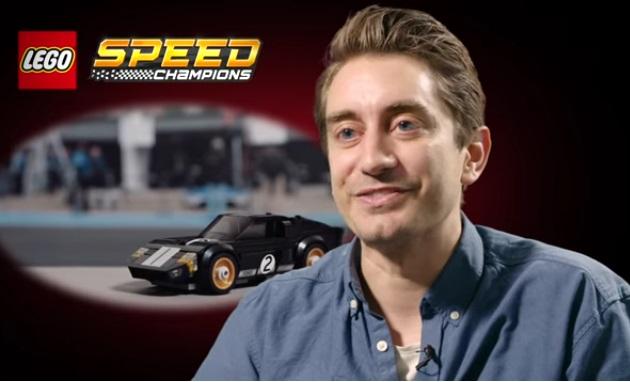 【ビデオ】レゴのデザイナー、ブロックでフォード「GT40」のミニチュア版を製作することについて語る