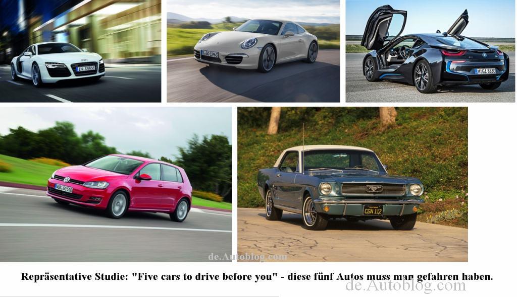 Lieblingsauto, die lieblingsautos der Deutschen. das Lieblingsauto der Deutschen, Top 5, Top 10,  cars to drive before you die, Umfrage, favoriten, das beste Auto, das beliebteste Auto