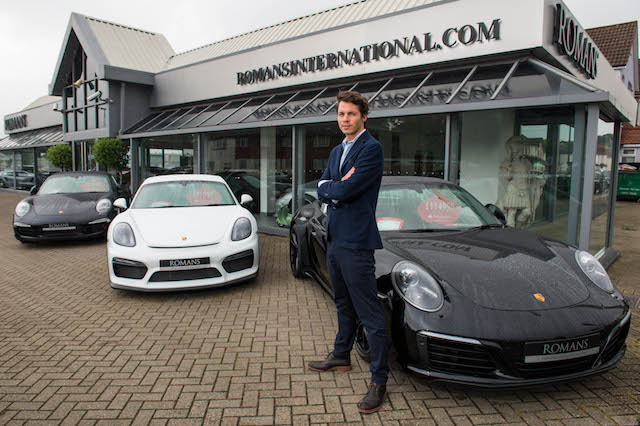 Huge Demand For Supercars In London Sees Surrey Dealer Join