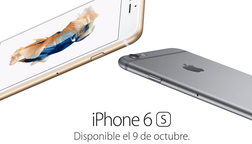 Los iPhone 6s y 6s Plus llegan a España y México el 9 de octubre