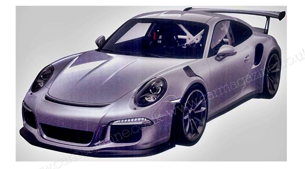 ffizielle Bilder vom  neuen Porsche 911 GT3 RS