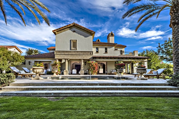 Sylvester Stallone's California mansion on sale for £3 million