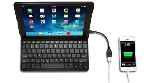 Kensington KeyFolio Thin X3 for iPad Air