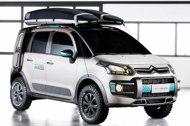 Citroën C3 Aircross Lunar Concept