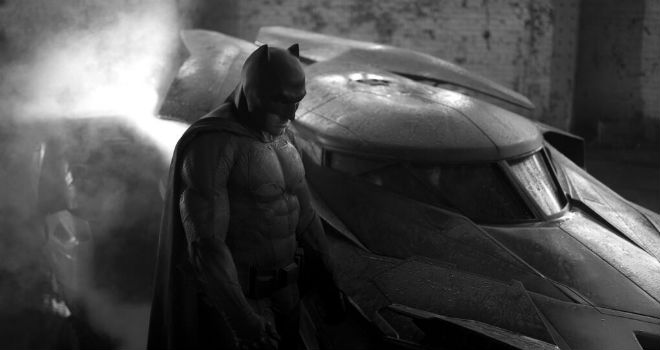 new batsuit batmobile