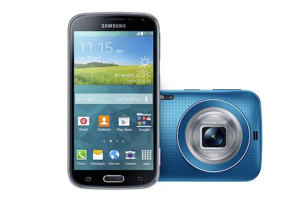 El delgadísimo Galaxy K zoom llega a España por 499 euros