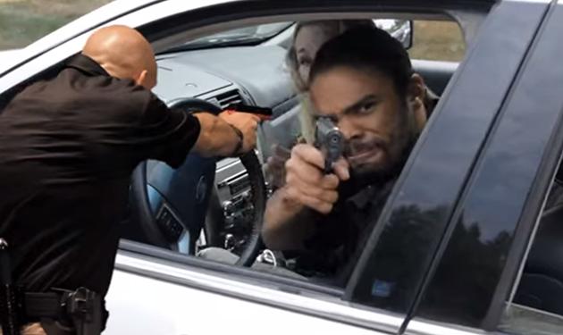Conviértete en un auténtico policía con la ayuda de Kinect