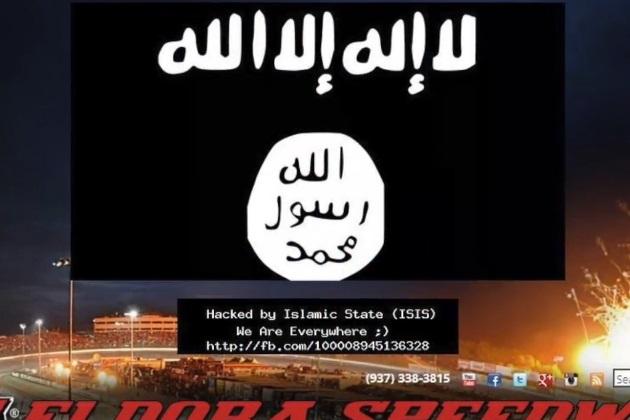 【ビデオ】イスラム国が、NASCARレーサーの所有するダートトラックのサイトをハッキング
