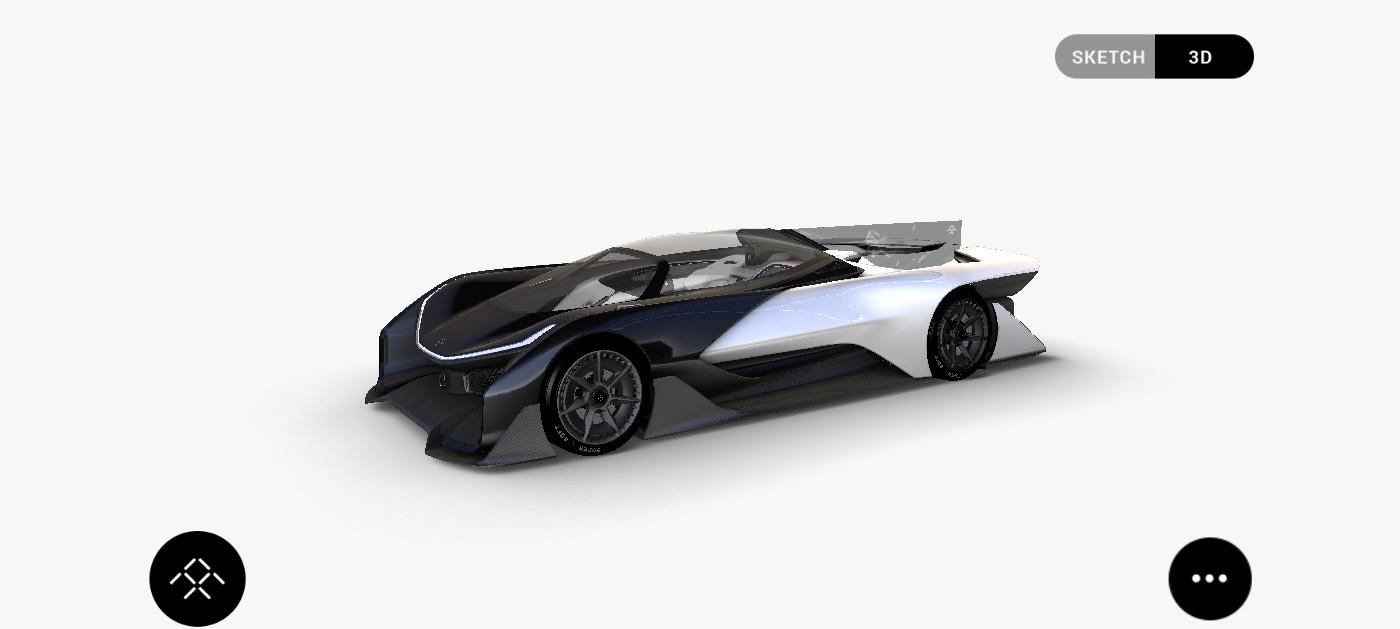 Se filtra el imponente vehículo de 1.000 caballos de Faraday Future