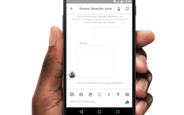 Facebook tests Snapchat-like self-destructing messages