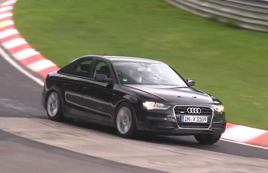 Erlkönig, Audi A4, Audi A4 B9, Versuchsträger, Video, Tets Mule, Audi Mule, Audi A4 Mule, B9, fünfte Generation, Video, Nürburgring