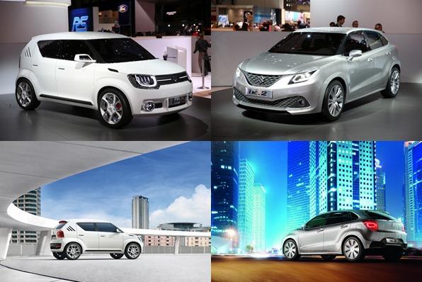 Suzuki IK-2, Suzuki, Suzuki iM-4, Auto salon genf, Genfer Auto salon, Kleinwagen, Premiere, offiziell, Kompaktklasse, SUV