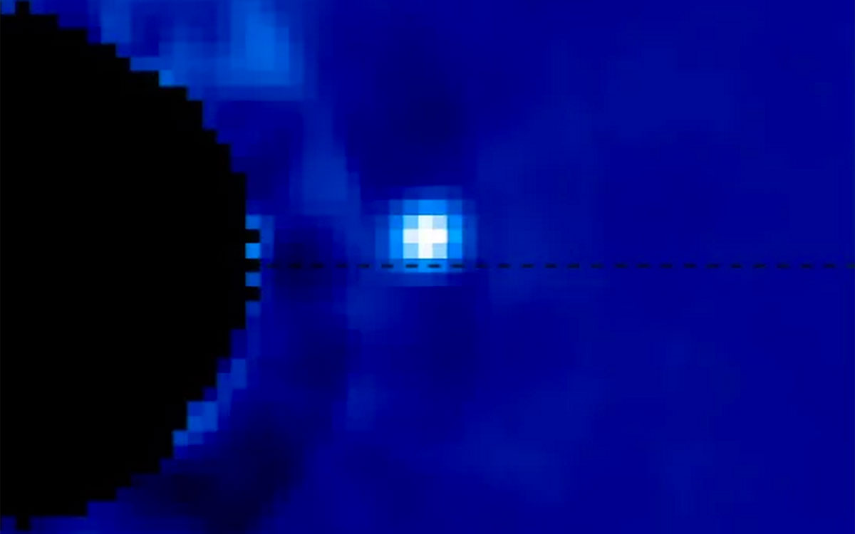 Here's your clearest look yet at an alien planet in motion