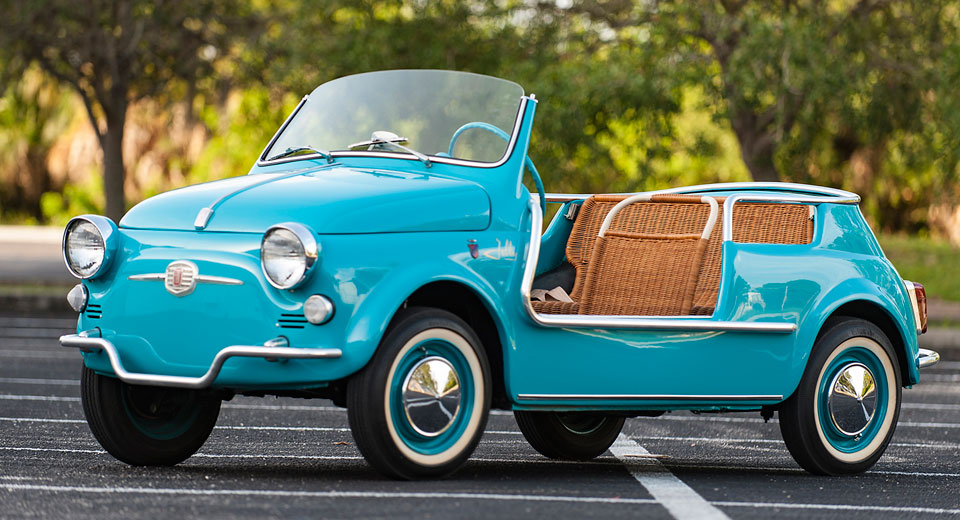 Fiat 500 Jolly Up For Sale In November Aol Uk Cars