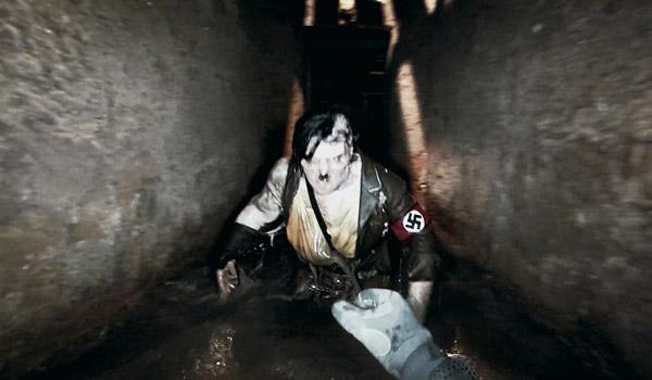 ナチス残党が秘密基地で生きていた!ゾンビになって米軍を襲撃する衝撃のパニックホラー『ナチス・オブ・ザ・デッド』【動画】