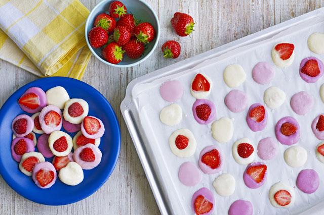 Yoghurt buttons recipe