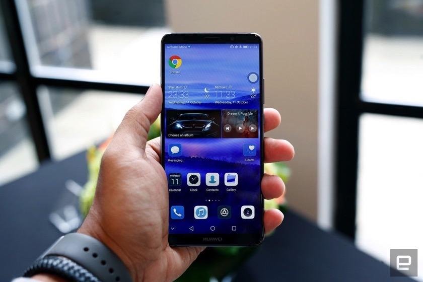 Bericht: Huawei plant für das Mate 11 Fingerabrdrucksensor im Display