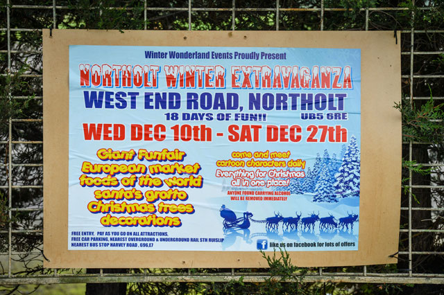 ruislip winter wonderland cancelled
