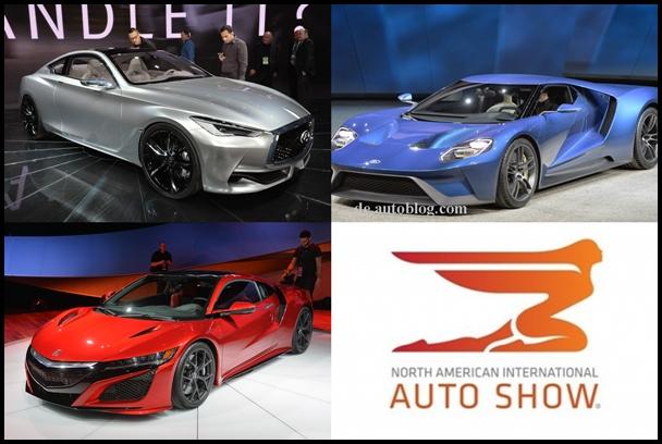 Die schönsten Autos der detroit motor show
