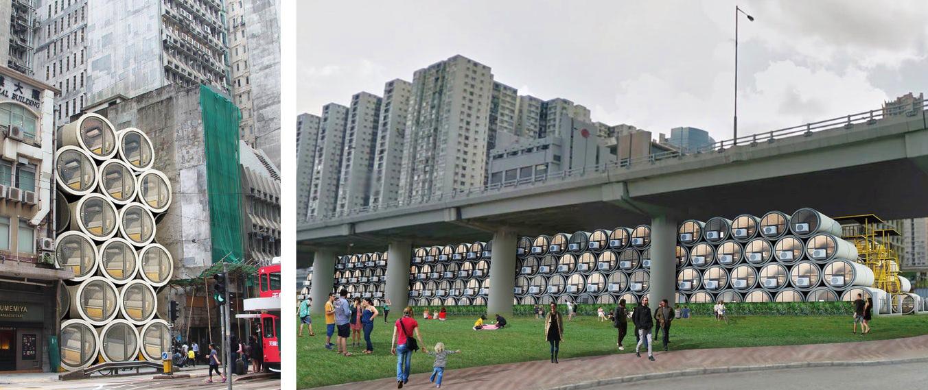 OPod: Einraumwohnung in der Röhre gegen Wohnungsmangel