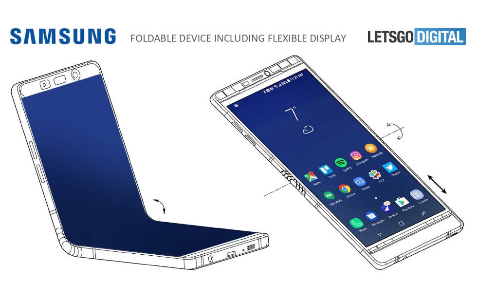 Galaxy X: Samsung zeigt sein FaltPhone im CES-Hinterzimmer