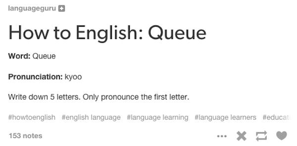 complicated english language, english language fails