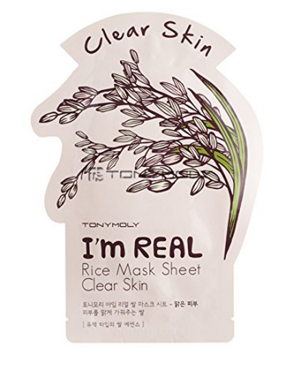 TonyMoly sheet masks