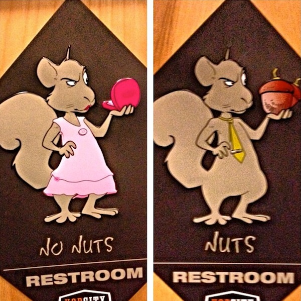 15 of the Most Funny and Creative Bathroom Signs Around ...