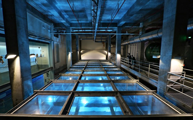 University of Miami's hurricane tank simulates storms for scientists