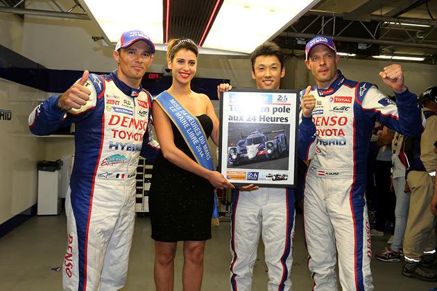 ル・マン24時間レース予選、中嶋一貴が日本人初のポールポジション獲得!